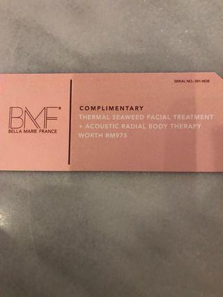 Bella Marie France Full facial and slimming treatment