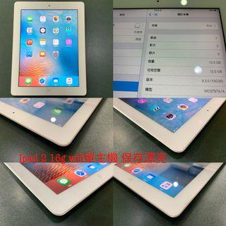 Ipad 2 16g wifi單主機 功能正常 e18a5
