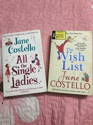 Jane Costello: All the single ladies & The Wish List (Combo)