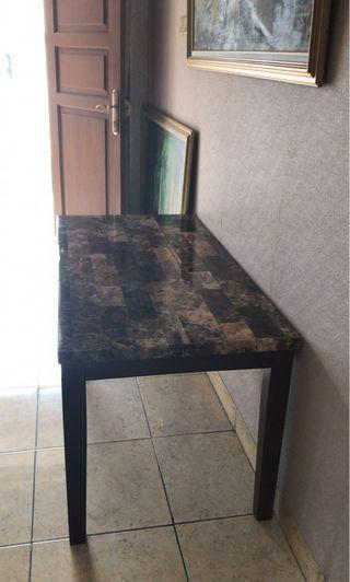 Coffee Table Informa Baru,warna coklat #mauvivo