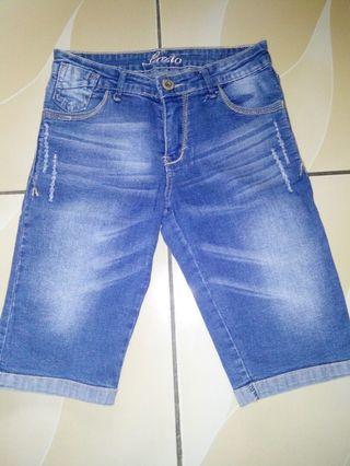 #BAPAU - Celana Jeans Pendek