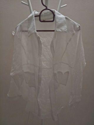 Casual white cloth