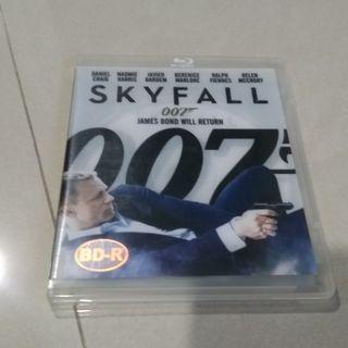 James bond 007 Skyfall blu ray bluray disc movie