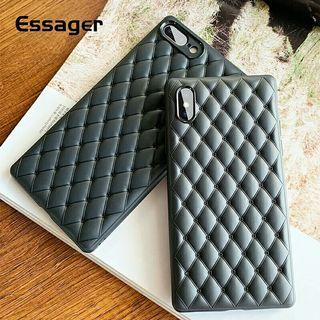 Breathable Leather Case For iPhone XS Max XR X S R 8 7 Plus
