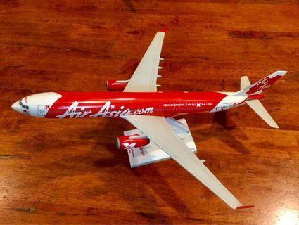 Die Cast Air Asia 33cm