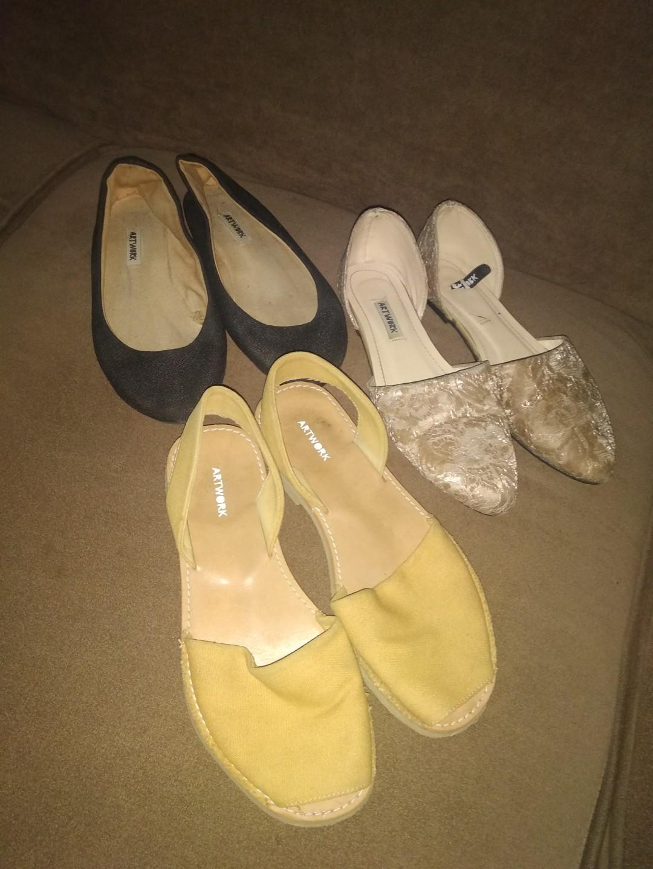 3 shoe bundle from Artwork