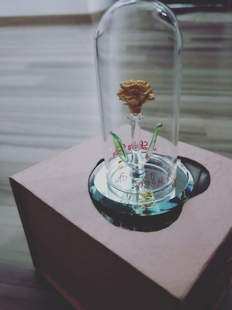 999 (纯金) Pure gold flower