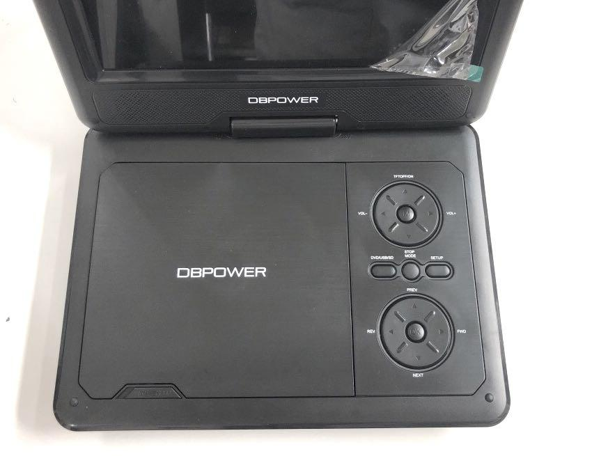 9in TFT Portable DVD Player