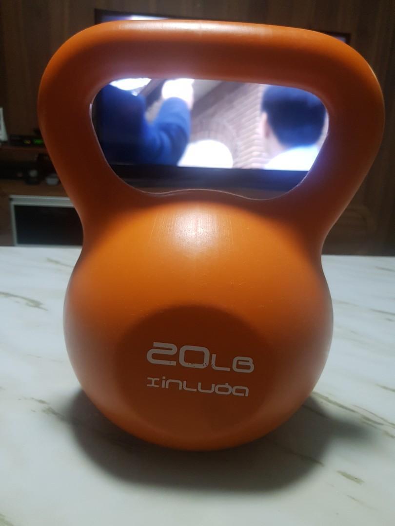 9kg / 20lb kettle ball