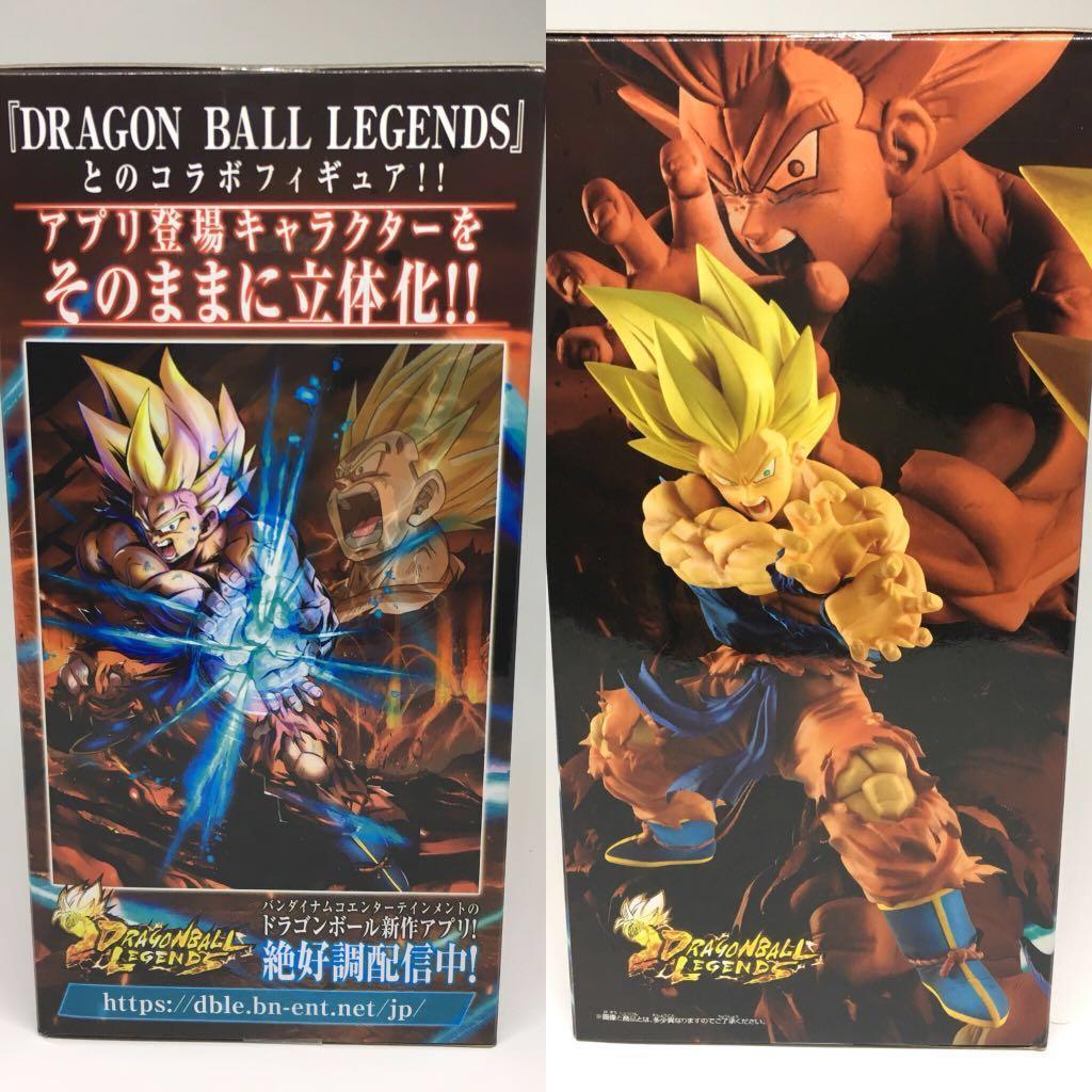 龍珠 超 悟空 Dragon ball legends 龜波氣功 景品 PVC 連火焰特效件