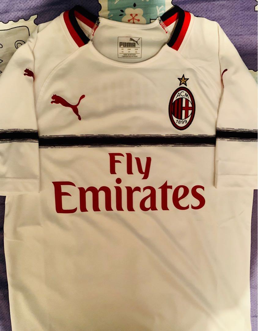 AC米蘭 AC Milan 1819作客 xs 印咗卡卡 只著過一次,極新淨