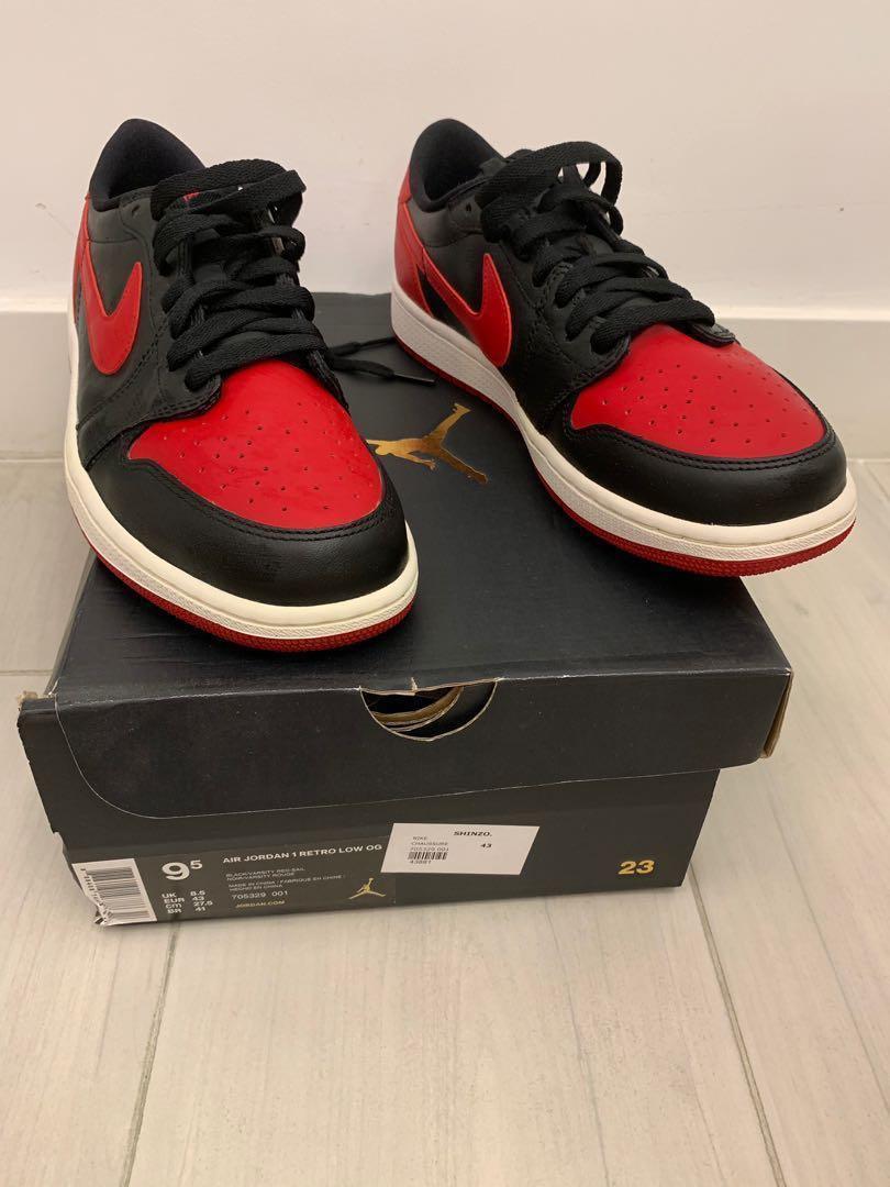 Air Jordan 1 Low Bred