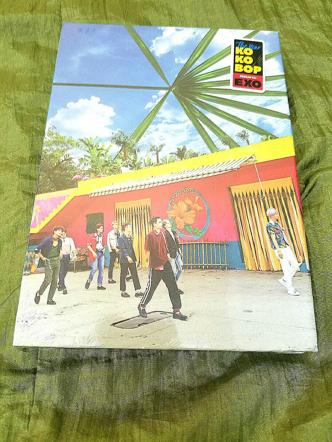 Album EXO KO KO BOP The war version + poster