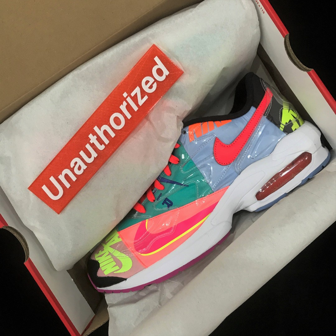2d48f51797 atmos x Nike Air Max2 Light, Men's Fashion, Footwear, Sneakers on Carousell