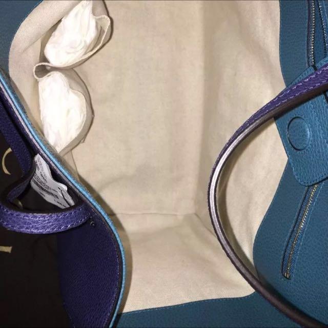 真Authentic Gucci swing tote handbag 手袋 包包