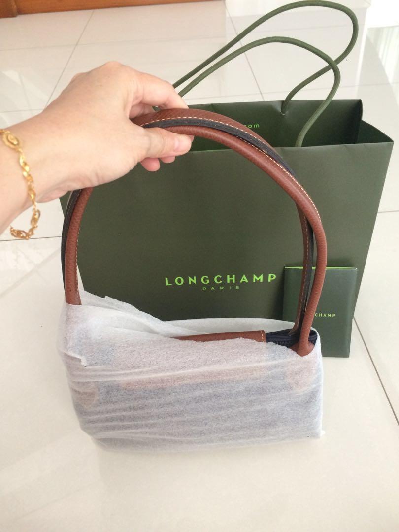 972a64c16 Authentic NEW Longchamp blue shoulder bags, Women's Fashion, Bags ...