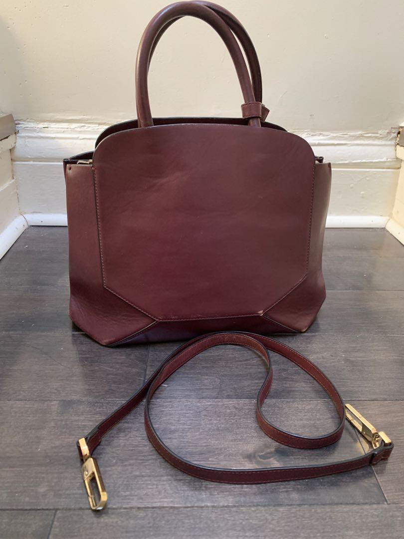 Auxiliary bag from Aritzia - wear and tear
