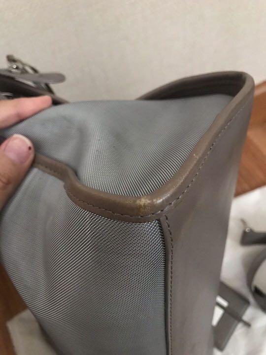 Balenciaga City Mesh Transparent mix leather (Gray) 2014