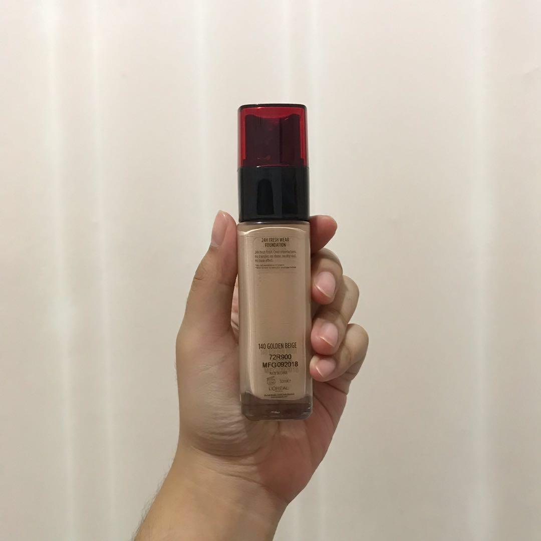 #BAPAU Loreal Infallible 24H Fresh Wear Foundation