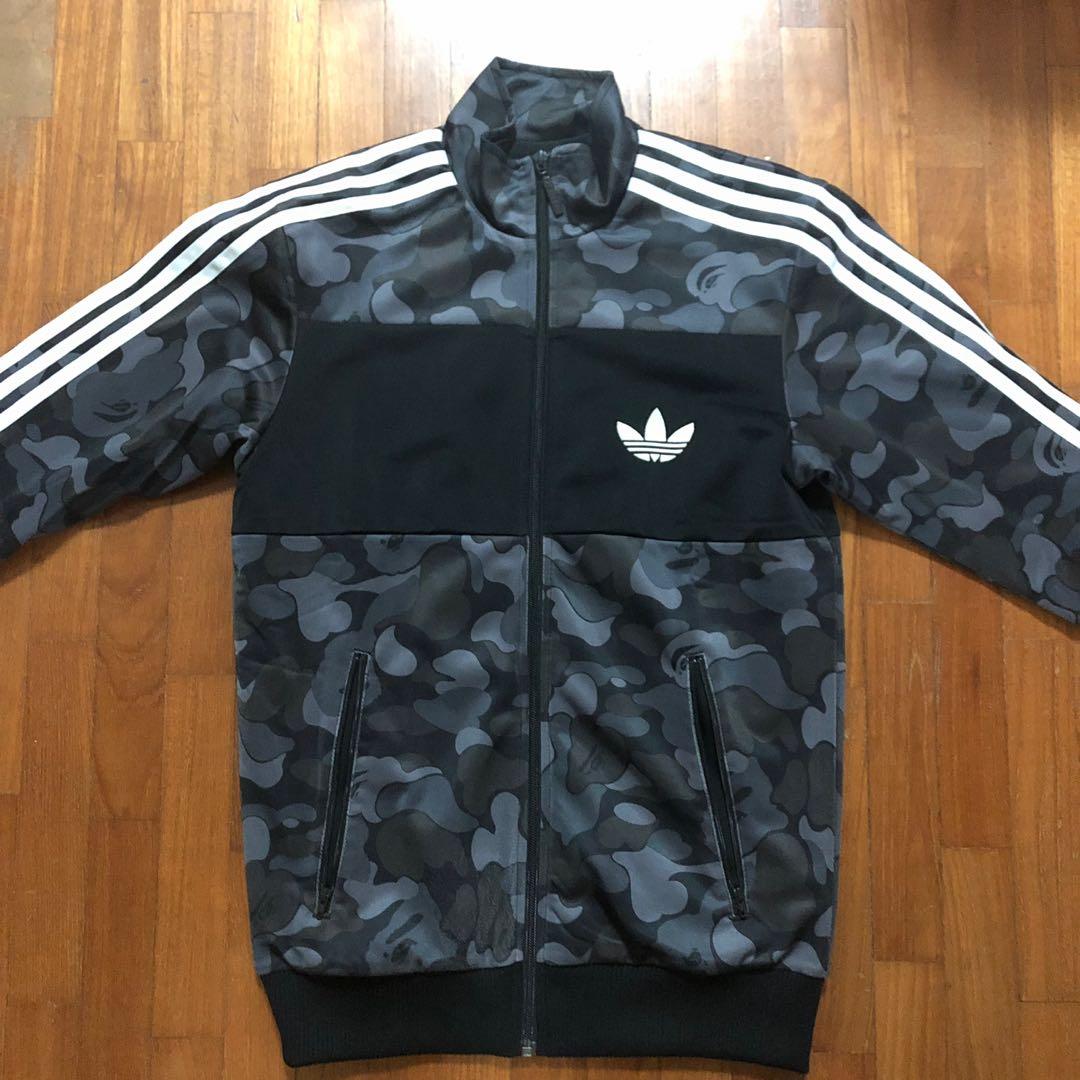 782b2b48 Bape Adidas Firebird track jacket XS, Men's Fashion, Clothes, Tops on  Carousell