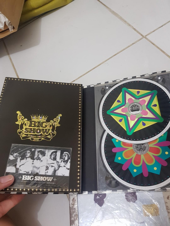 BIGBANG LIVE CONCERT 2011 BIGSHOW DVD