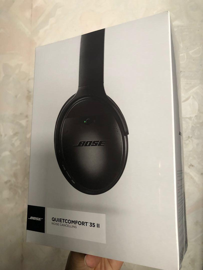 Bose quietcomfort 35 II noise cancelling headphone 藍牙耳機