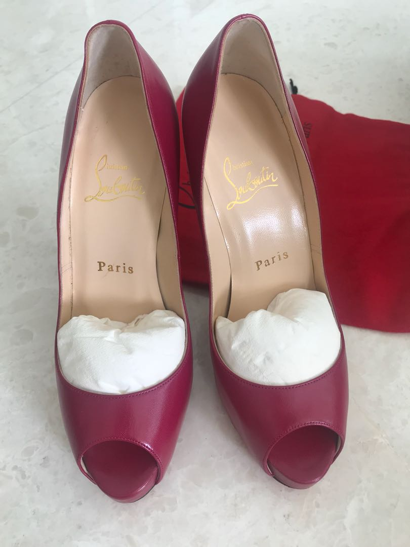 11503a75863 Brand New Christian Louboutin Very Prive 120 heels