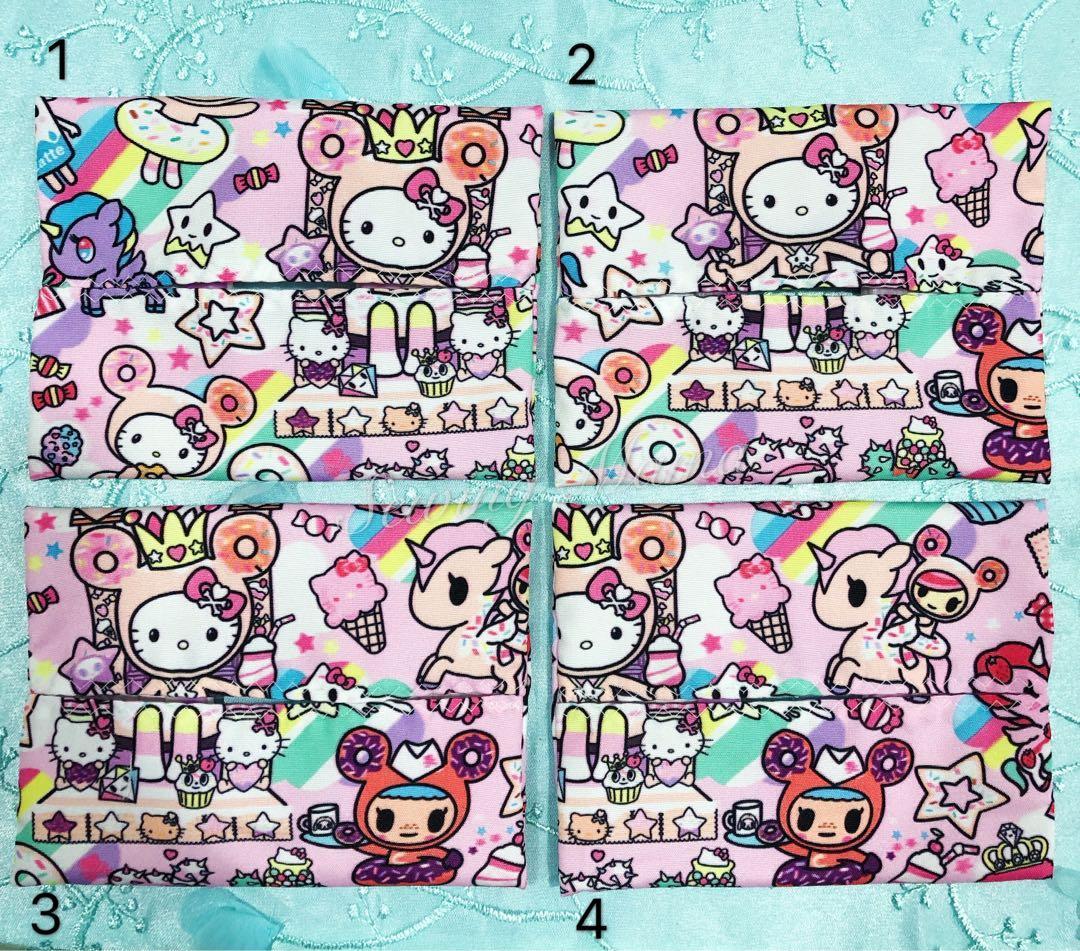 Brand New Tokidoki x Hello Kitty Travel Tissue Pouch