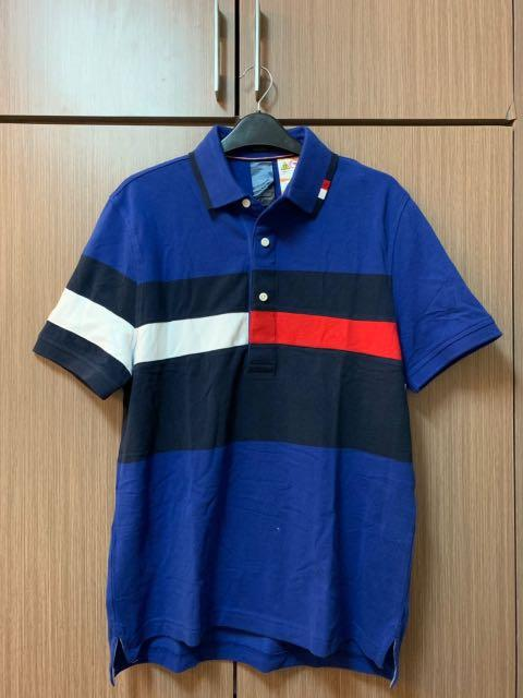 34010e0b Brand New Tommy Hilfiger Flag Polo Shirt (Custom Fit) on Carousell