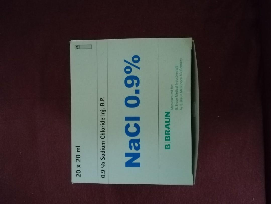 Braun Sodium Chloride Nacl 0.9% 20ml