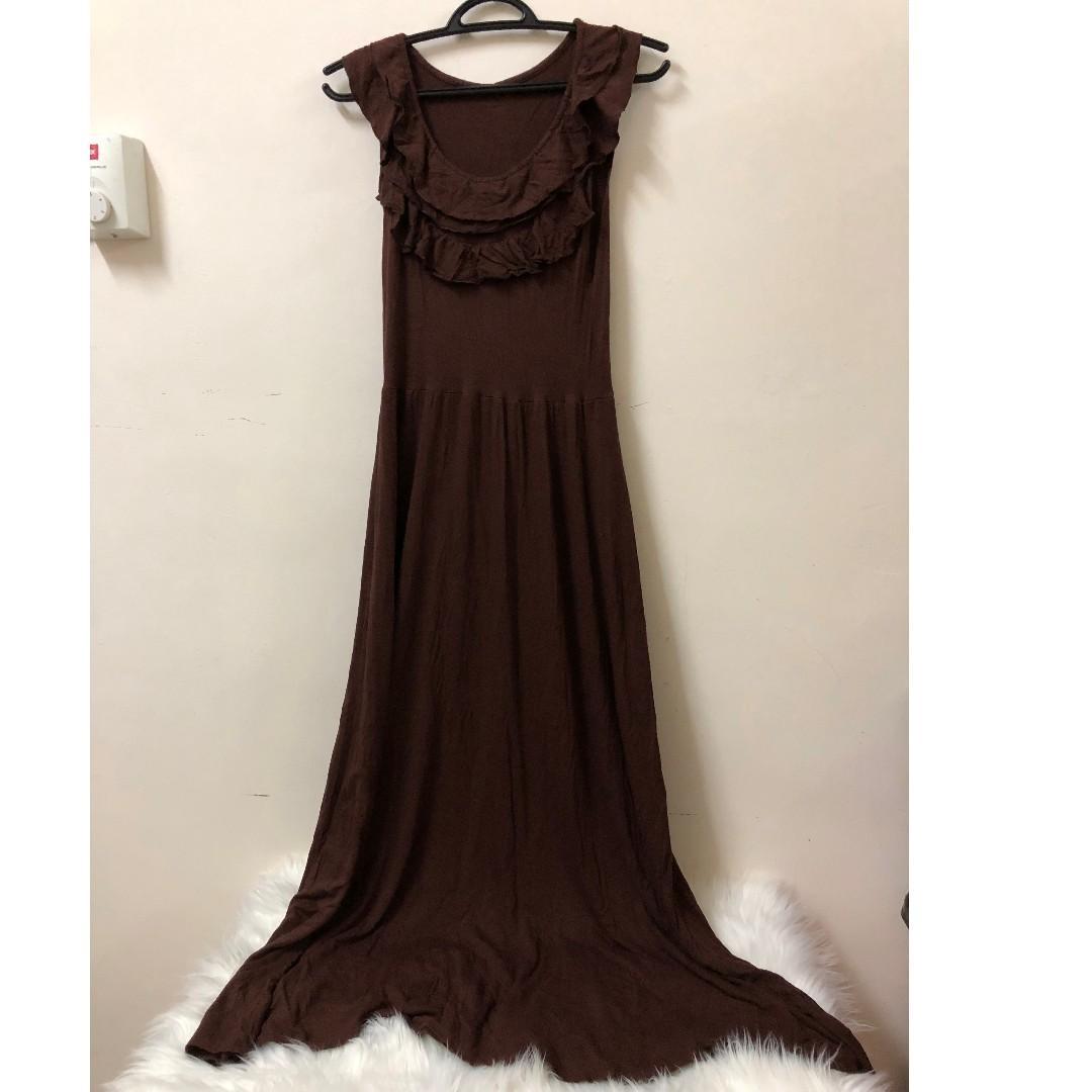 Brown Dresses SA230