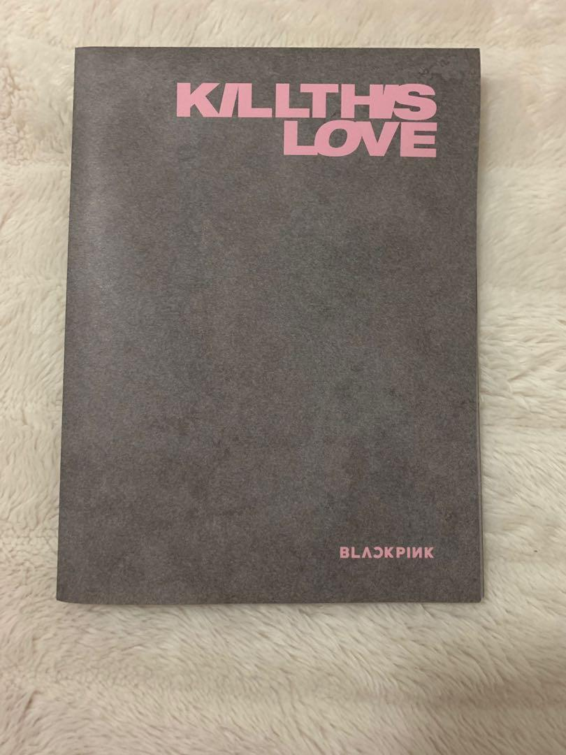 BTS Official KTL Kill This Love Rosé Black Ver. Poster