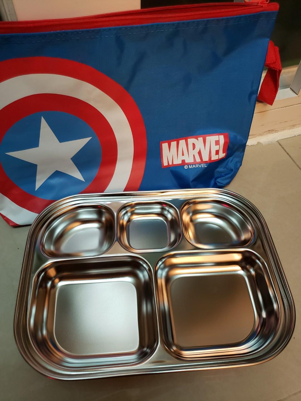 Captain America 兒童食物盒
