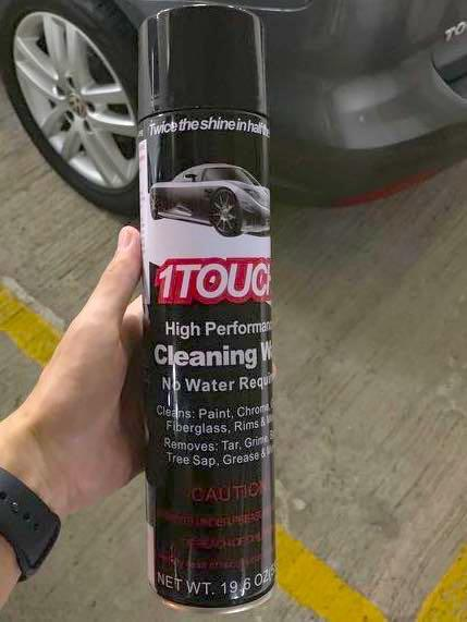 Car cleaning wax (19.6 Oz)