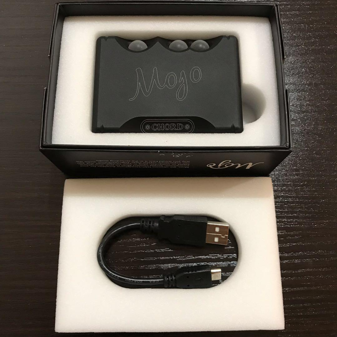 Chord Mojo DAC AMP fullset masih garansi (pembelian feb 2019)