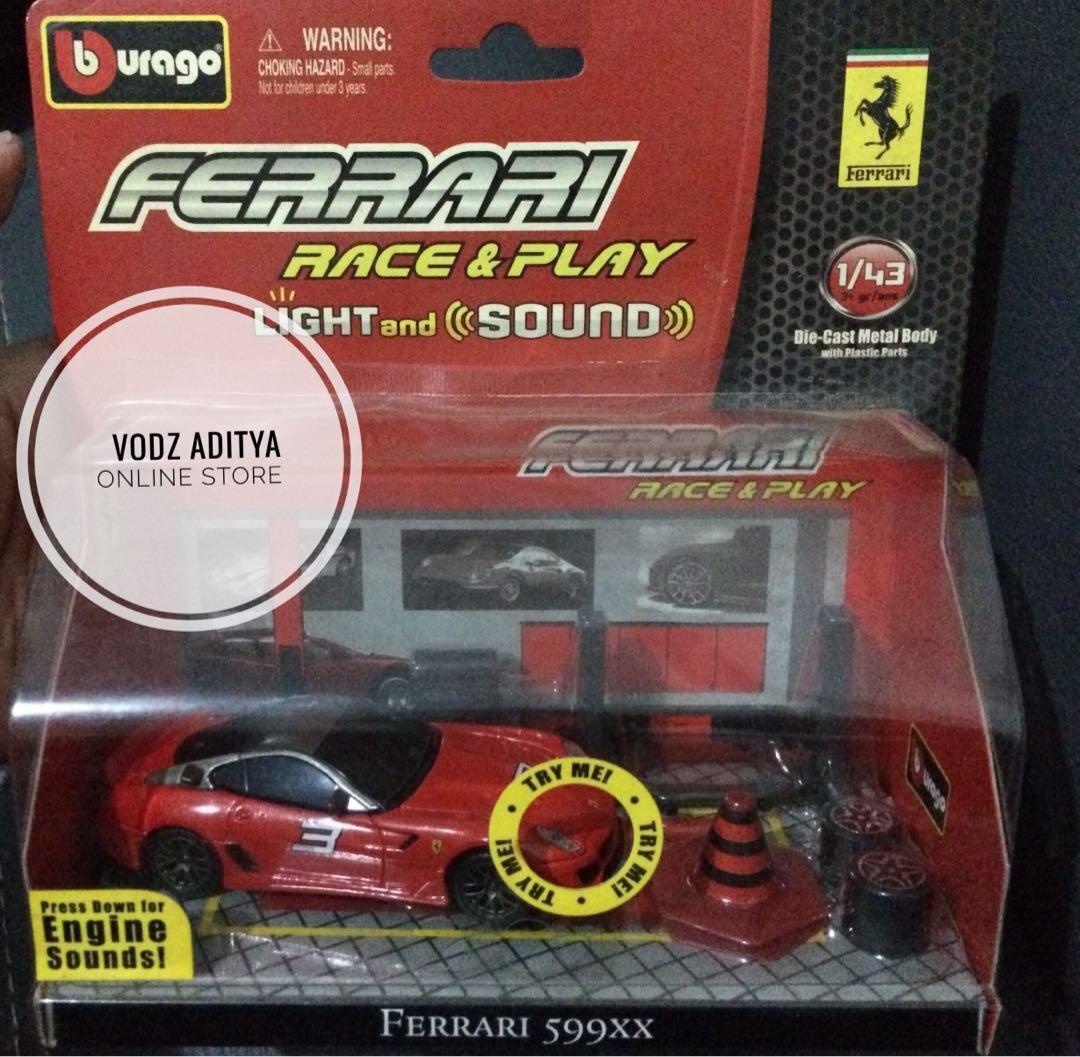 Diecast Ferrari 599XX RARE 1:43