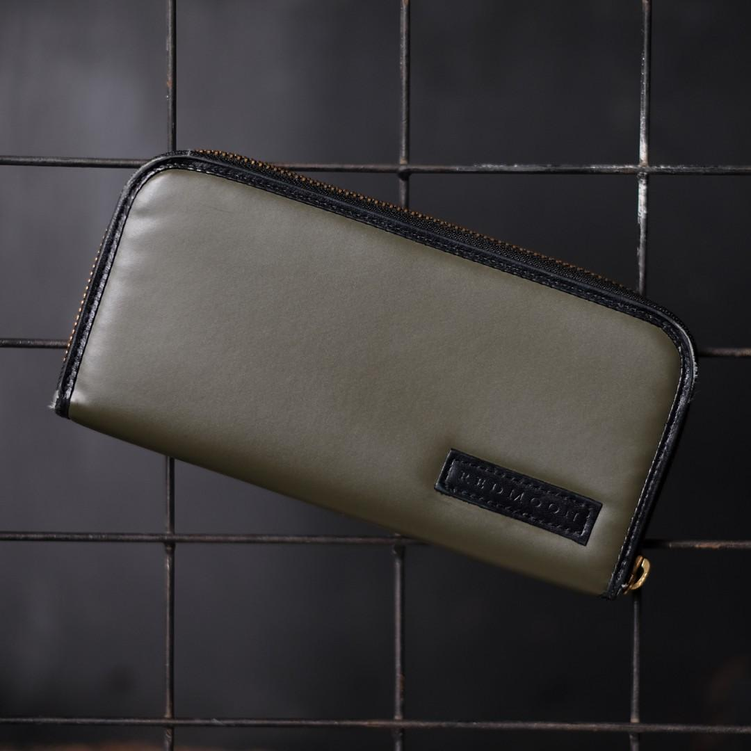 Dompet Kulit Redmoon Original Made Japan not Tumi