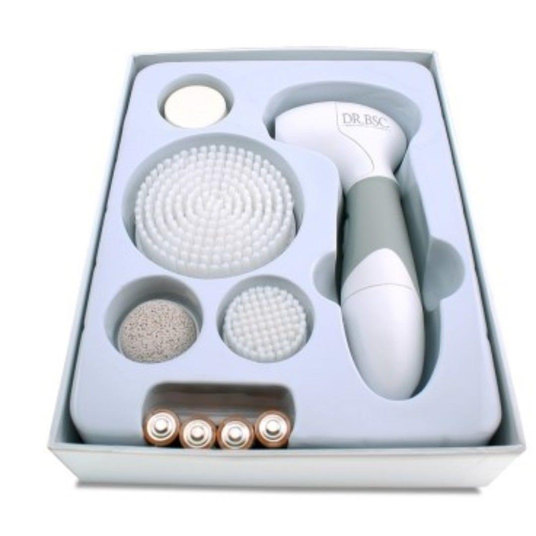 DR.BSC 全合一多功能電動淨膚儀(全身用,防水,配4種不同刷頭) #原價$1980#