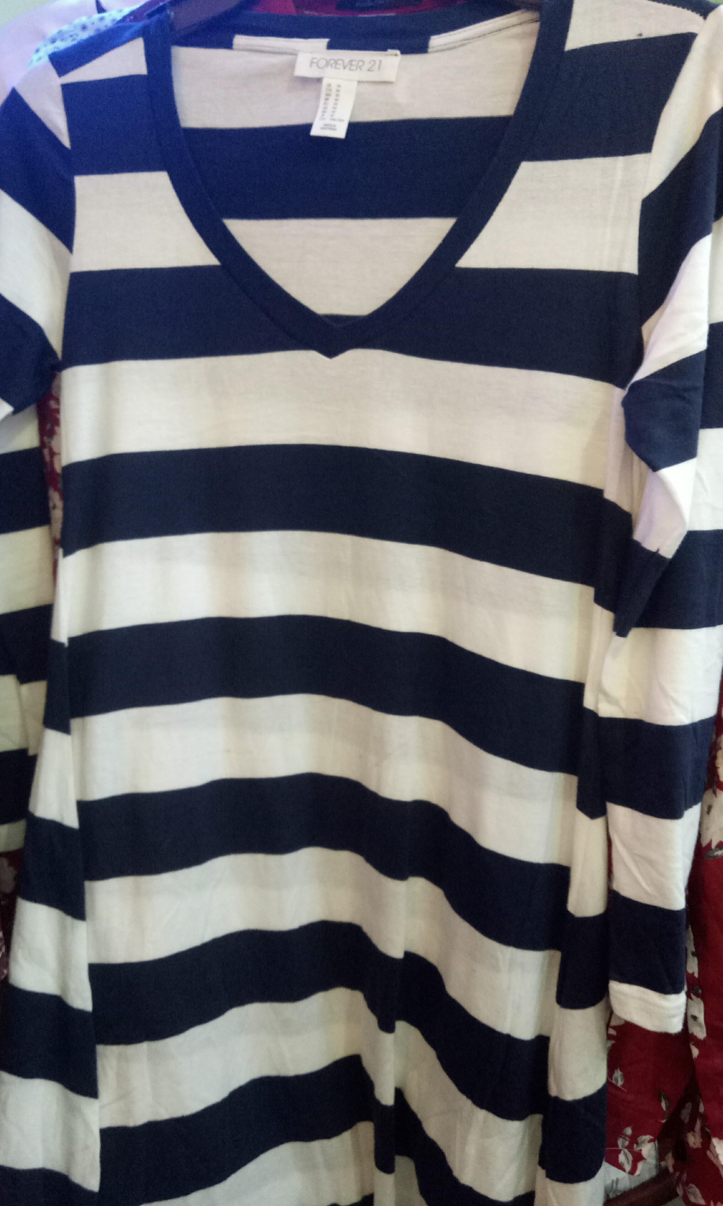 Dress stripe navy