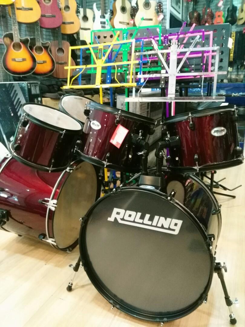Drum Set Rolling Bisa Di cicil