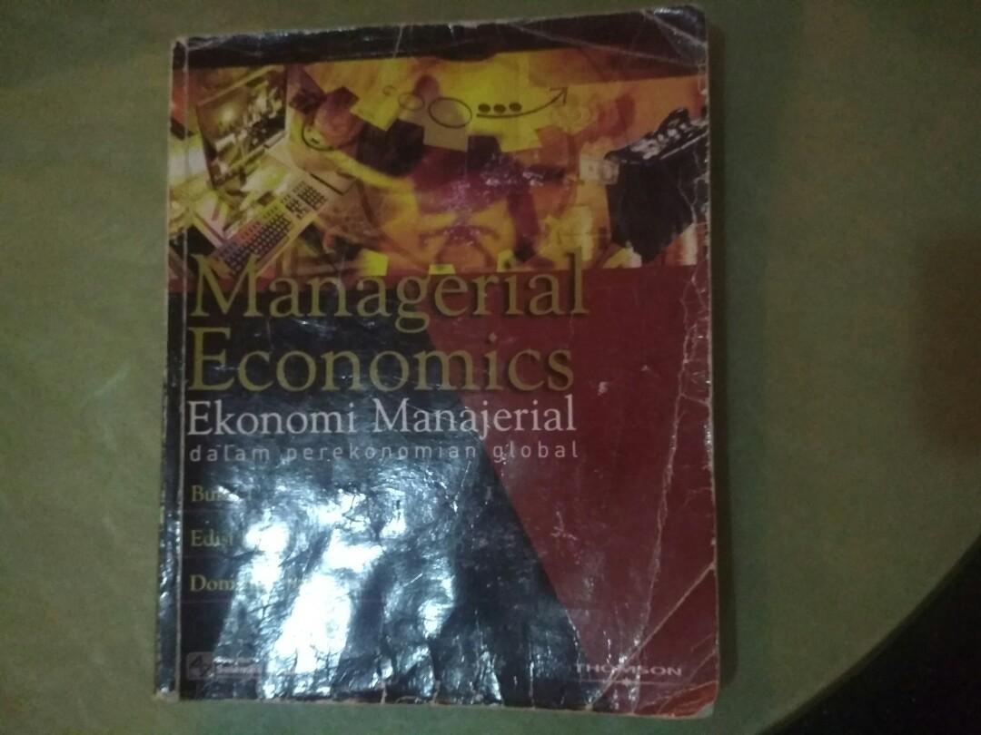 Ekonomi Manajerial Original / Managerial Economics