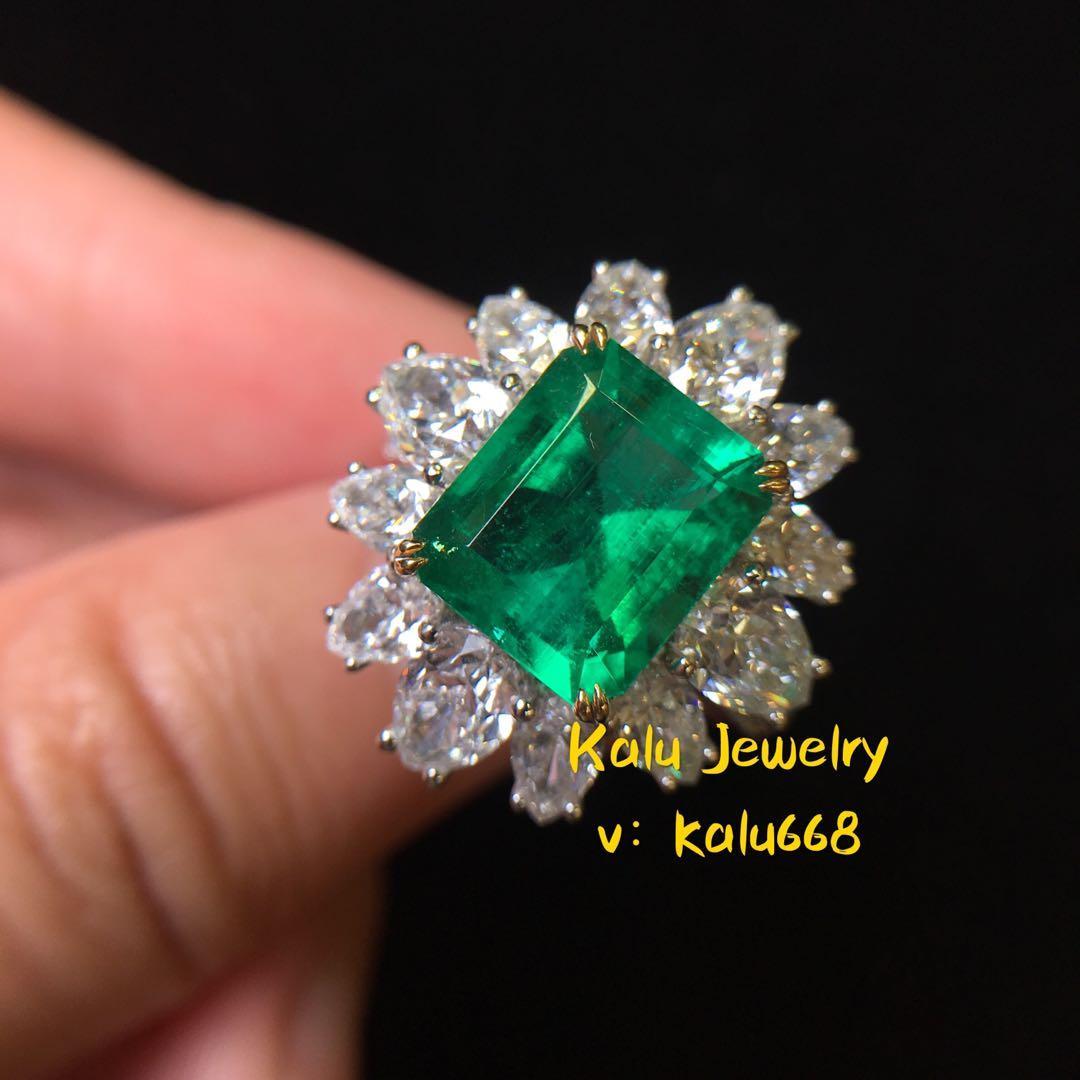 祖母綠戒指emerald