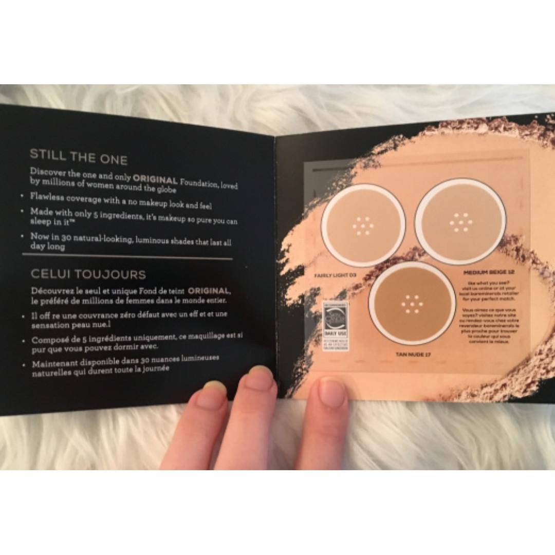 Loose Powder Mineral Foundation Sample