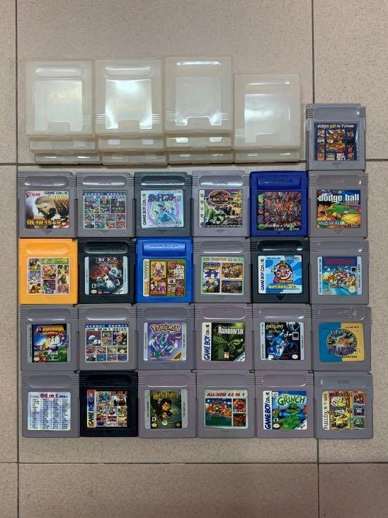 GAME BOY遊戲 共25盒(連11個膠盒)