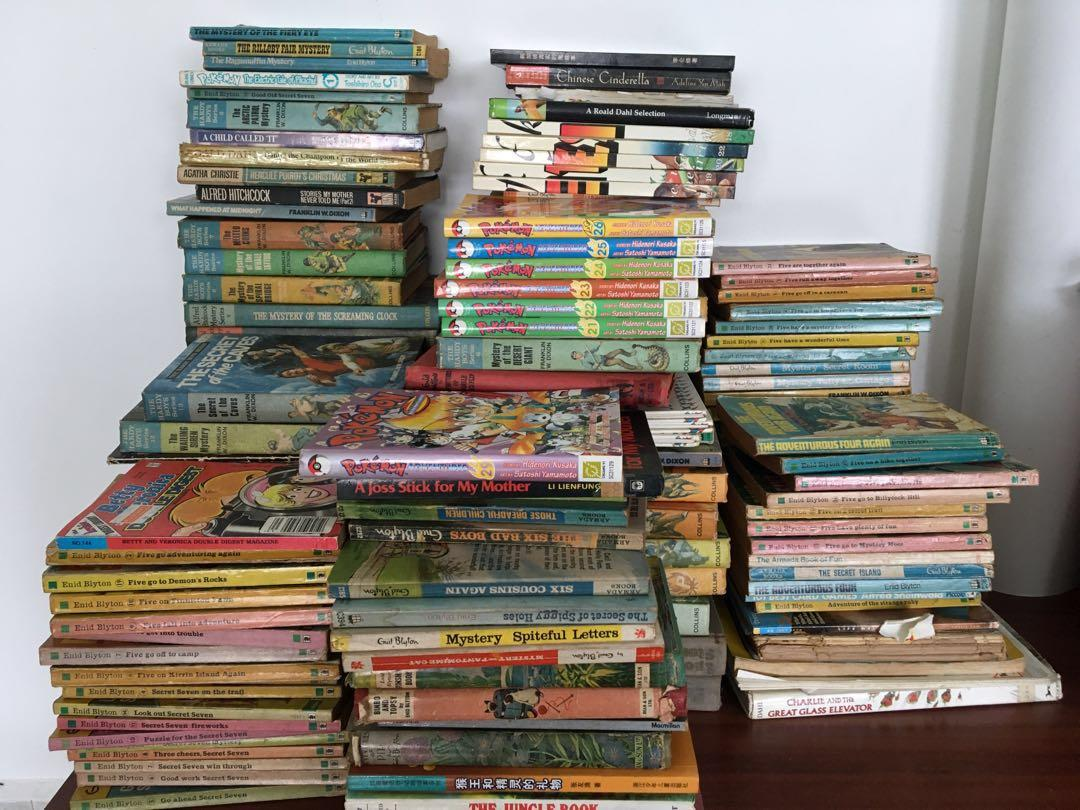 Giving Away Give Free Old Fiction Books Pokemon Books Books Stationery Fiction On Carousell