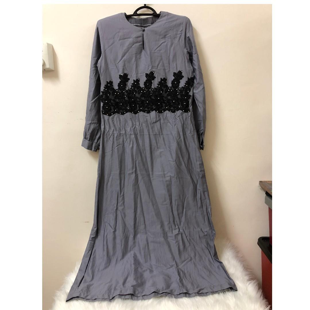 Grey Dress SA228