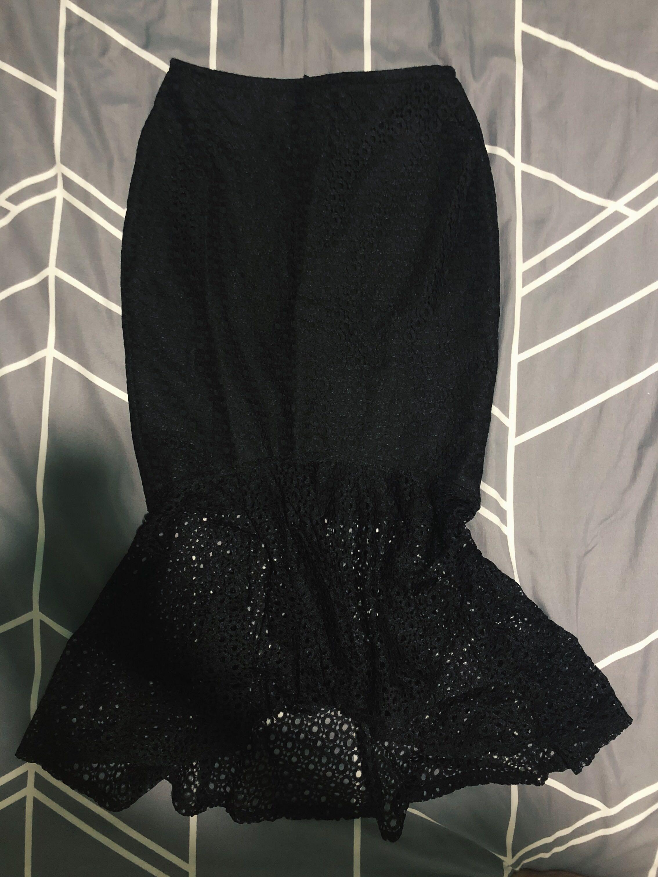 Hollyhoque Mermaid Skirt