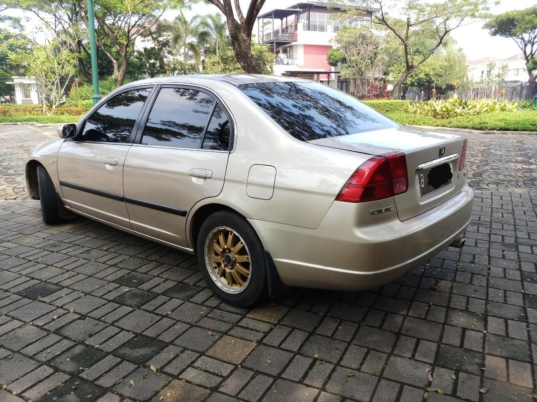 Honda Civic VTIS Metik 2001 Gold