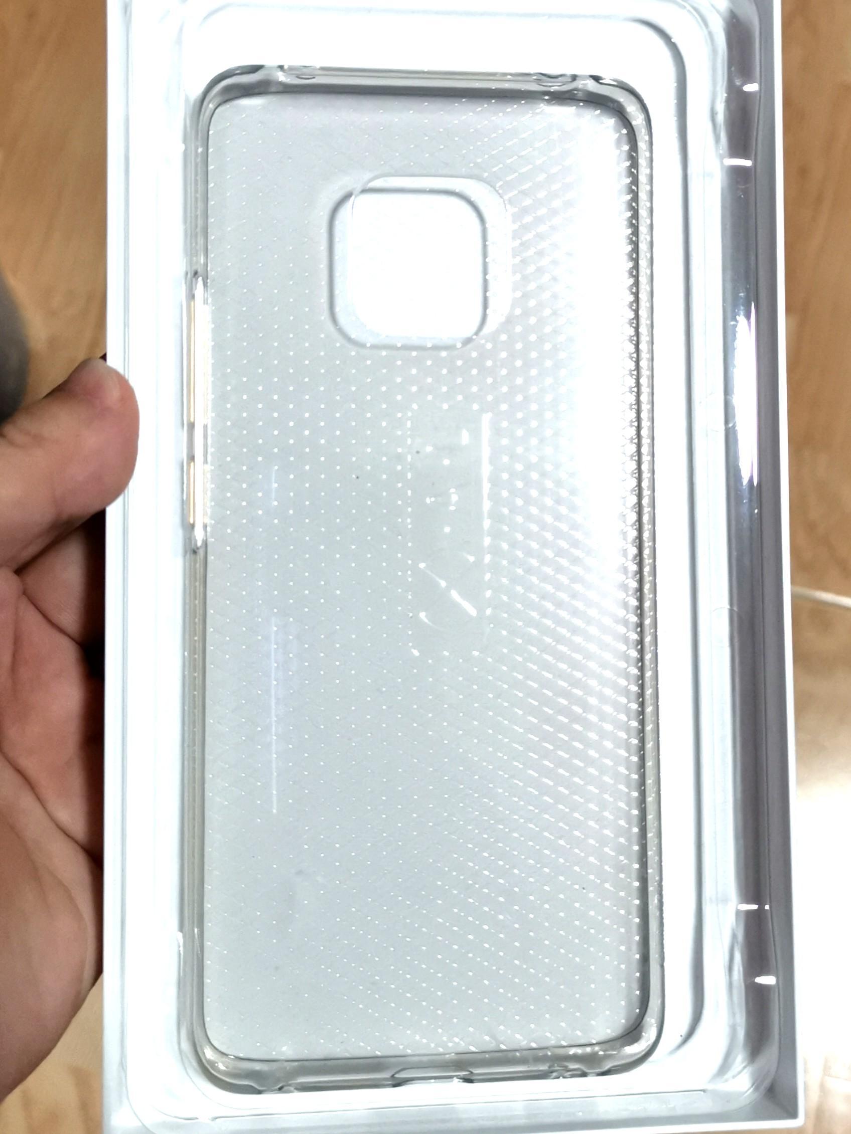 Huawei Mate 20 Pro transparent case