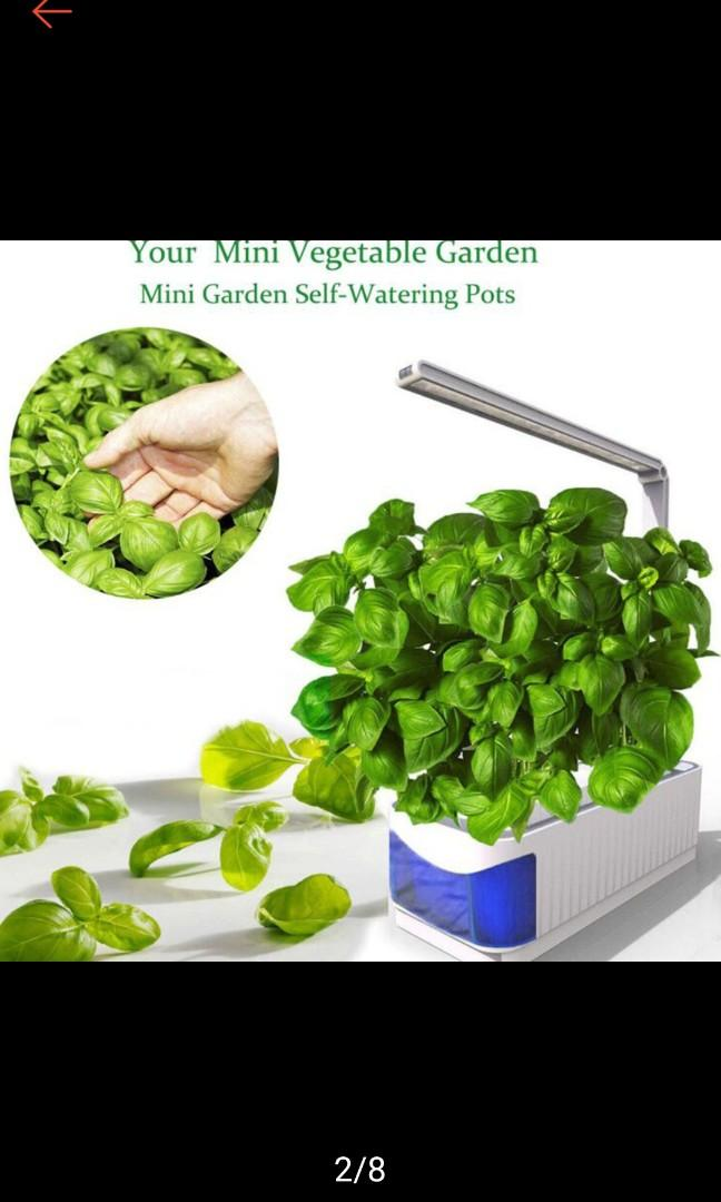 Hydroponic full led system to grow herbs or veggies